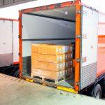 Vrachtwagenchauffeur winkeldistributie